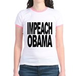 Impeach Obama Jr. Ringer T-Shirt