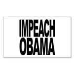 Impeach Obama Rectangle Sticker