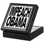 Impeach Obama Keepsake Box