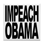 Impeach Obama Tile Coaster