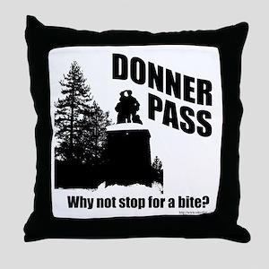 Donner Pass Throw Pillow