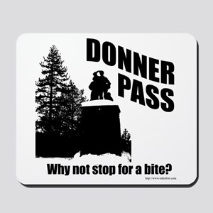 Donner Pass Mousepad