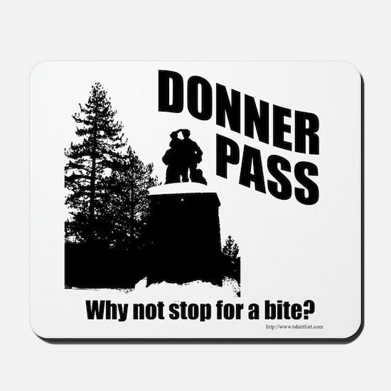 Donner Pass Mousepad