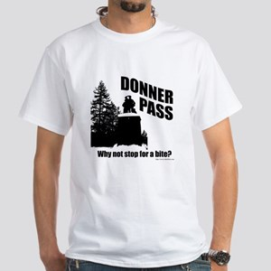 Donner Pass White T-Shirt
