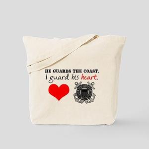 Guard His Heart Tote Bag