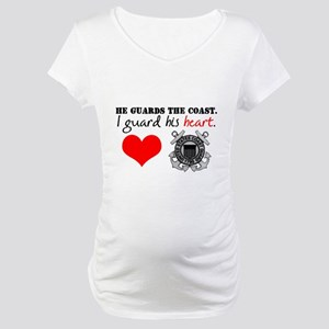 Guard His Heart Maternity T-Shirt