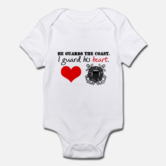 Guard His Heart Infant Bodysuit