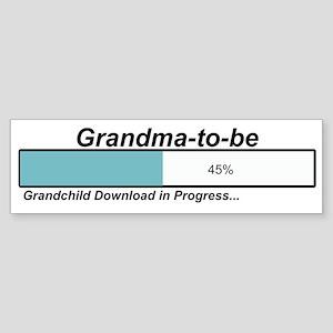 Download Grandma to Be Bumper Sticker