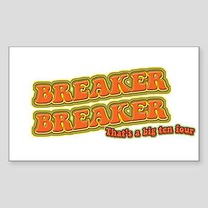 Breaker Rectangle Sticker