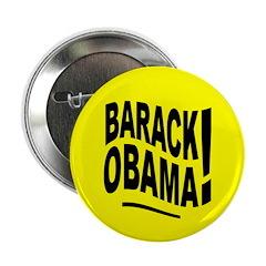 Barack Obama! Yellow Button
