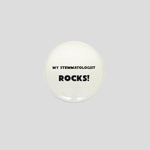 MY Stemmatologist ROCKS! Mini Button