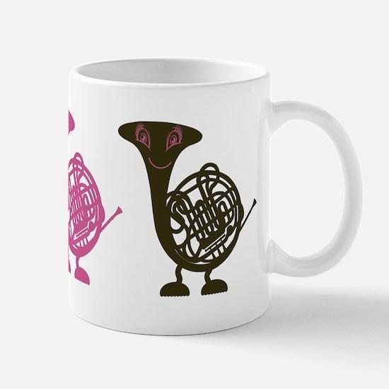 Happy Horn Mug
