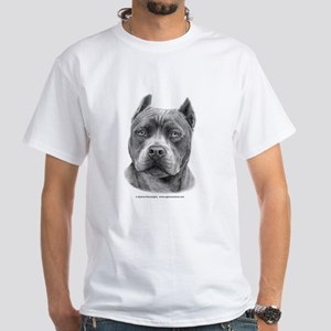 American Staffordshire Terrie White T-Shirt