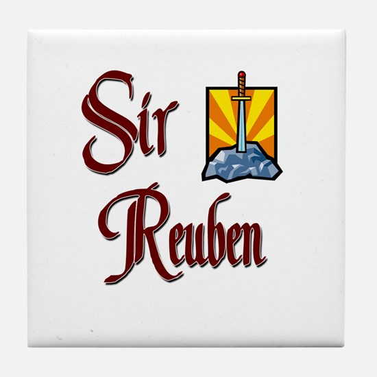 Sir Reuben Tile Coaster