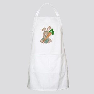Cute Rabbit With Carrot BBQ Apron