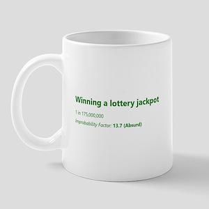 Winning A Lottery Jackpot Mugs