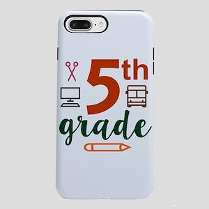 5th grade back to schoo iPhone 8/7 Plus Tough Case