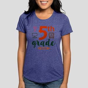 5th grade back to school Womens Tri-blend T-Shirt