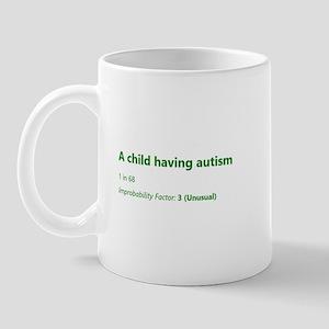 A Child Having Autism Mugs
