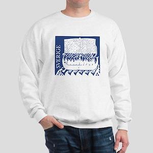 Sverige - Viking Ship Sweatshirt