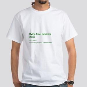 Dying From Lightning Strike T-Shirt
