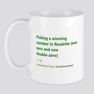 Picking A Winning Number In Roulette Mugs
