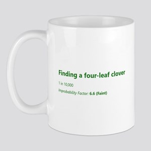 Finding A Four-Leaf Clover Mugs
