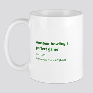 Amateur Bowling A Perfect Game Mugs