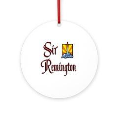Sir Remington Ornament (Round)