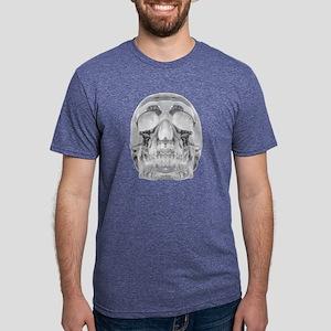 Crystal Skull Mens Tri-blend T-Shirt