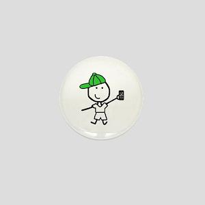 Boy & iPhone Mini Button