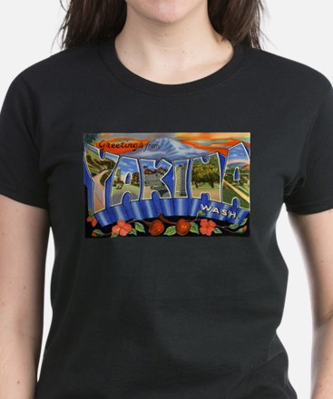 Yakima Washington Greetings Ash Grey T-Shirt