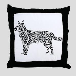 Australian Cattle Dog Throw Pillow