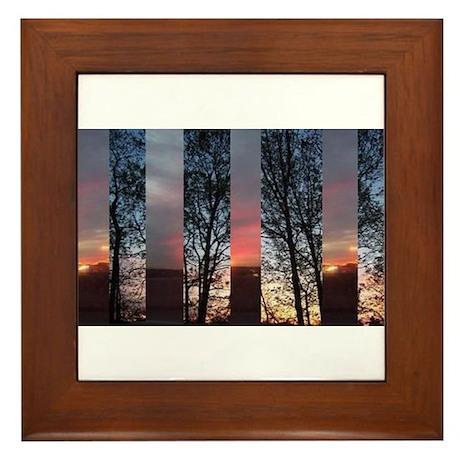 Daybreak Framed Tile