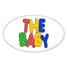 The Baby Oval Sticker
