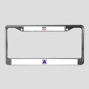 Bujutsu in my blood License Plate Frame