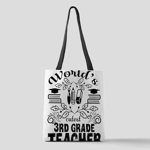 3rd Grade Teacher Polyester Tote Bag