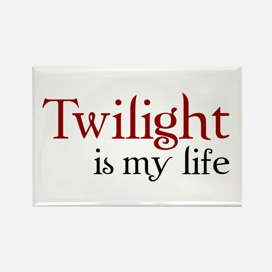 Twilight is my life Rectangle Magnet