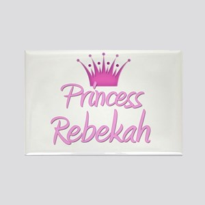 Princess Rebekah Rectangle Magnet