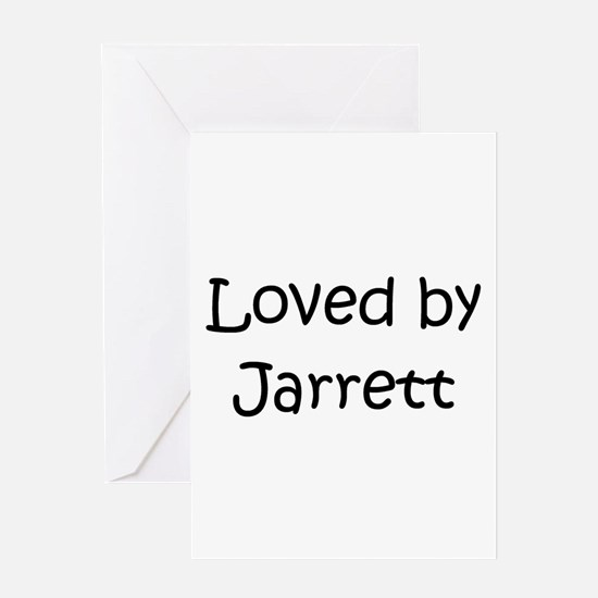 Unique Jarrett Greeting Card