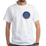 Masonic Past Officer White T-Shirt