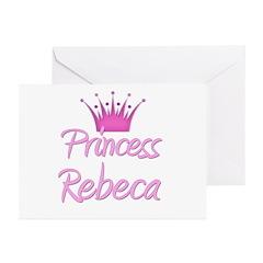 Princess Rebeca Greeting Cards (Pk of 10)