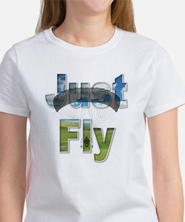 Just Fly Powered Parachute Women's T-Shirt