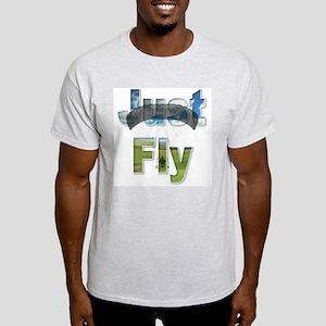 Just Fly Powered Parachute Light T-Shirt