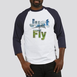 Just Fly Hang Gliding Baseball Jersey