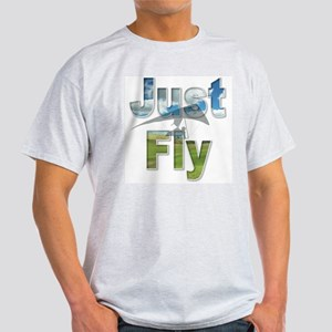 Just Fly Hang Gliding Light T-Shirt