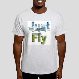 Just Fly Hang Gliding Light T-Shirt
