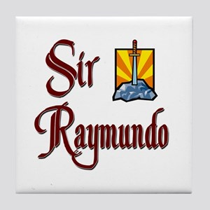 Sir Raymundo Tile Coaster