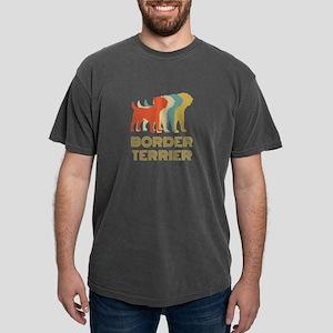 Border Terrier Dog Breed Vintage Look T-Shirt