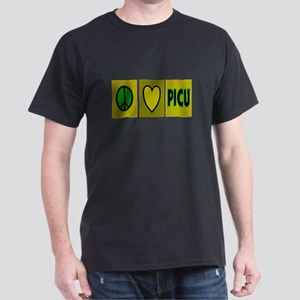 PICU Nurse Dark T-Shirt